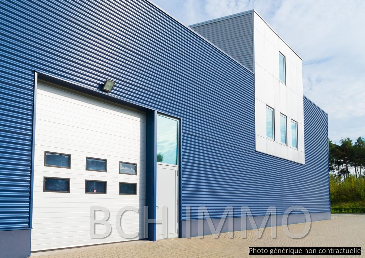 Location local d'activité ou entrepôt avec bureau sur grand terrain situé en zone d'activité à Bouc bel Air