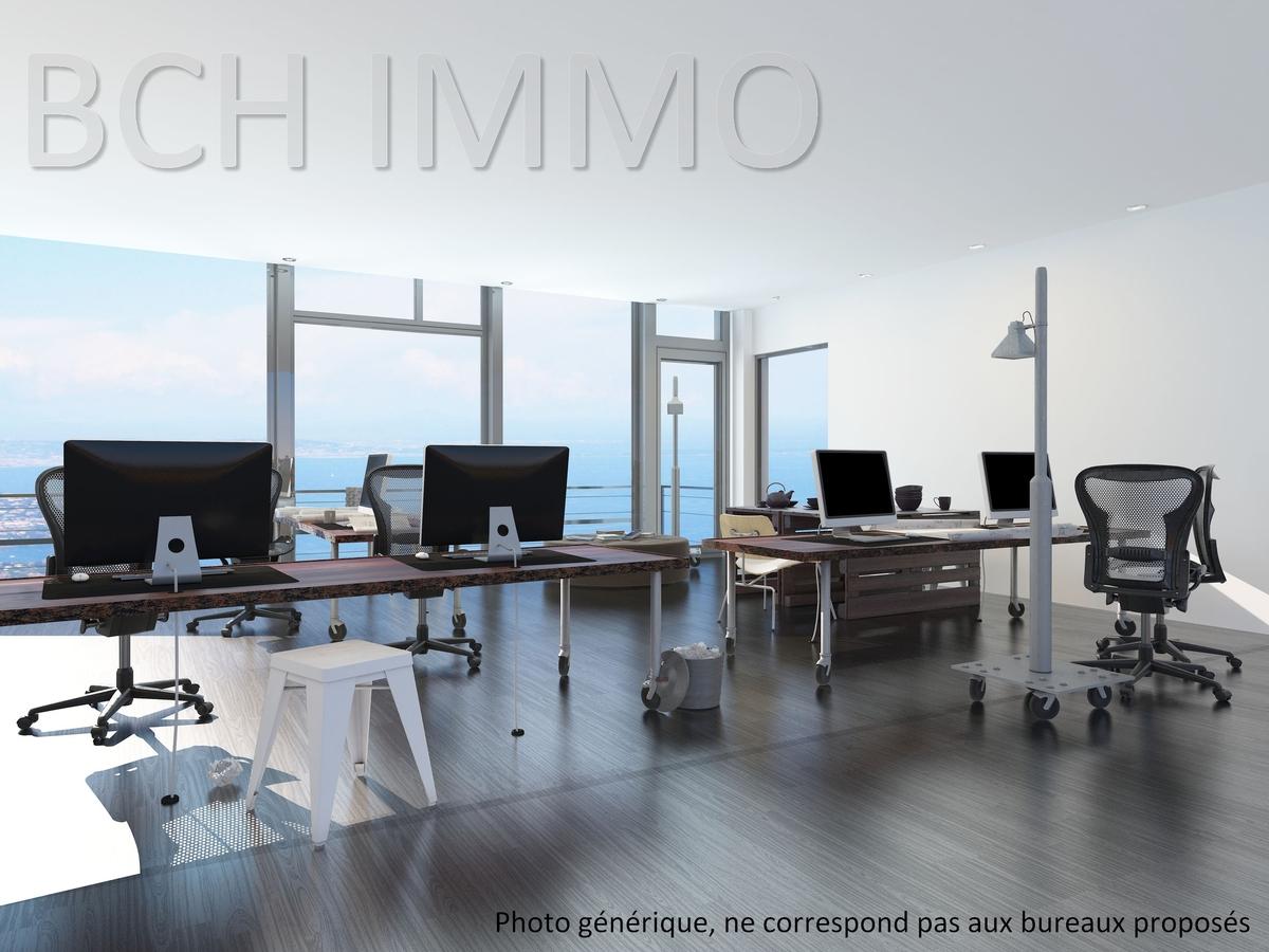 Location bureaux lumineux vue mr en excellent état Euromediterranée la Joliette Marseille 13002