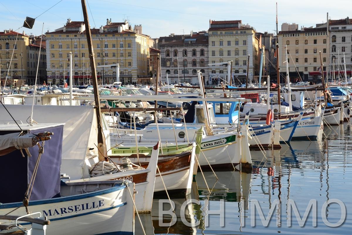 Location local commercial à forte visibilité en zone touristique secteur Vieux-Port de Marseille 13001
