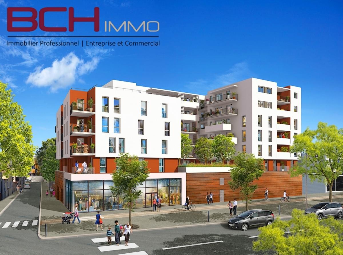 BCH IMMO agence immobilière spécialisée en vente de murs commerciaux et professionnels neufs en VEFA à Marseille 13010 Pont de Vivaux