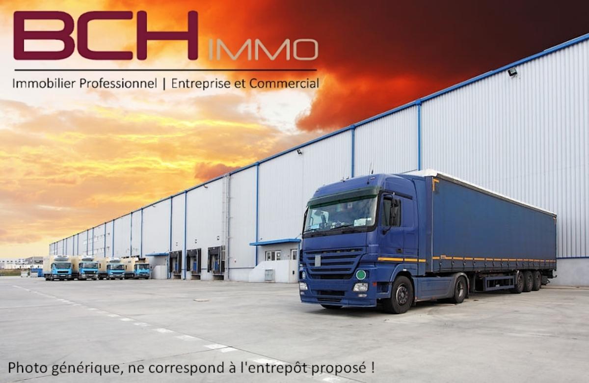 BCH IMMO agence immobilière spécialisée en location de locaux d'activité et entrepôts avec quai de déchargement et accès PL à Marseille 13014