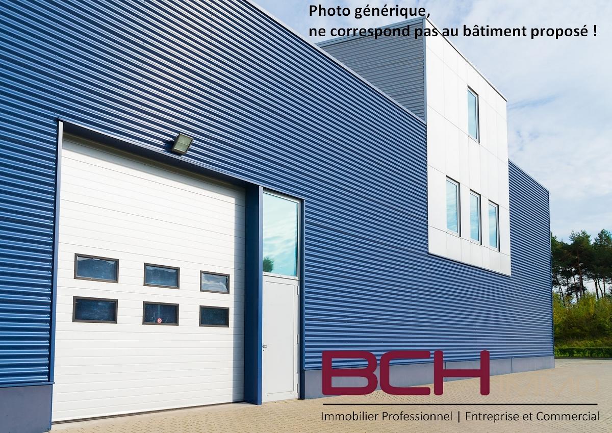 L'agence immobilière BCH IMMO, Spécialiste en Immobilier d'Entreprise à Marseille, vous propose la location de ce local d'activité avec bureaux situé à Château Gombert 13013