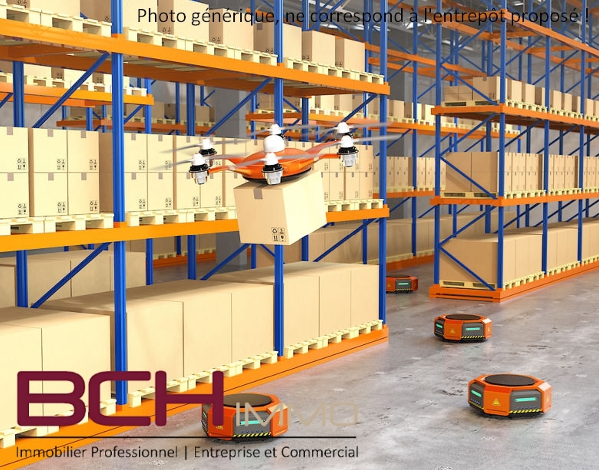 BCH IMMO agence immobilière spécialisée en location de locaux d'activité et entrepôt à Marseille 13015