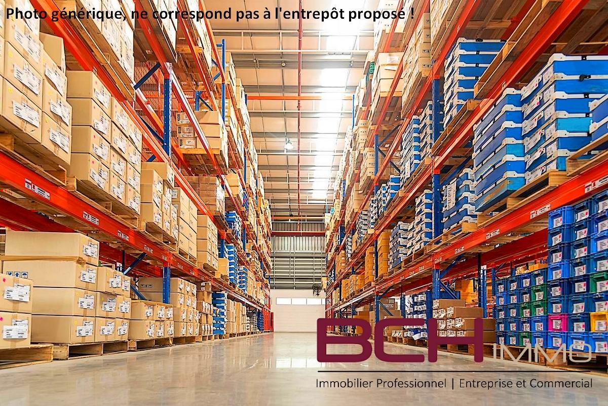 BCH IMMO, Spécialiste en Immobilier d'Entreprise et commercial à Marseille, vous propose la location de cet entrepôt en très bon état situé en zone d'activité à Marseille 13011