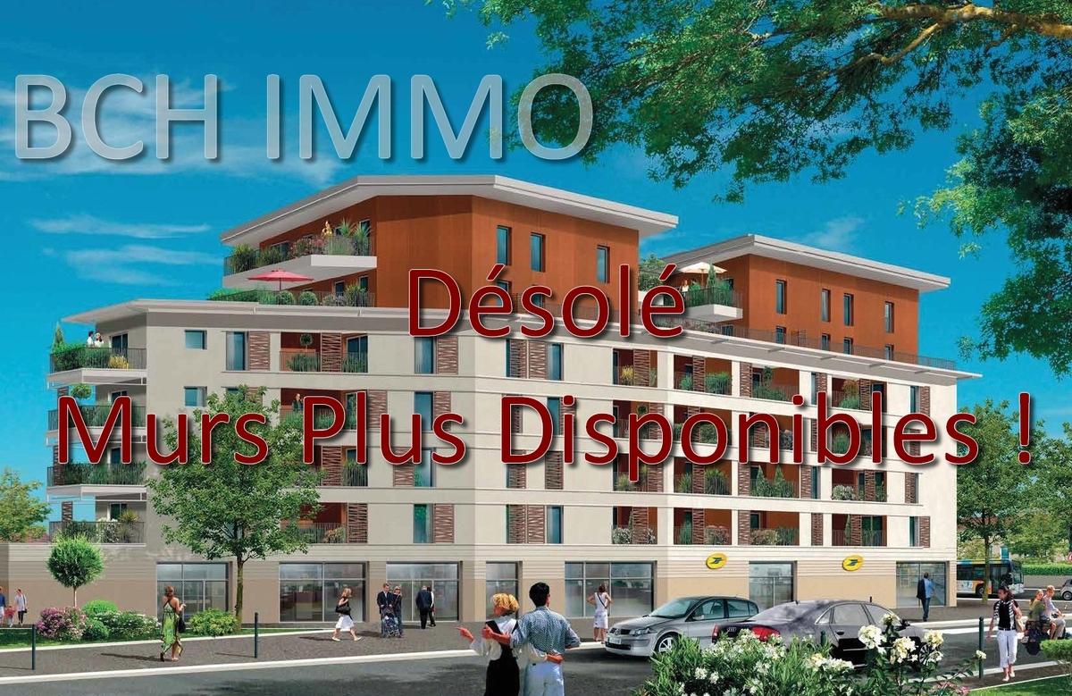 Vente murs commerciaux neufs avec parking privé situé en ZFU à Marseille St Antoine 13015